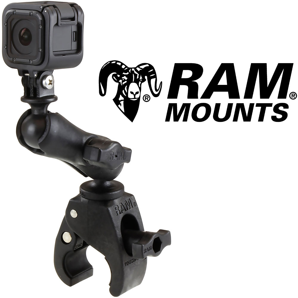 RAM Tough-Claw Double Ball Mount for GoPro Hero Cameras