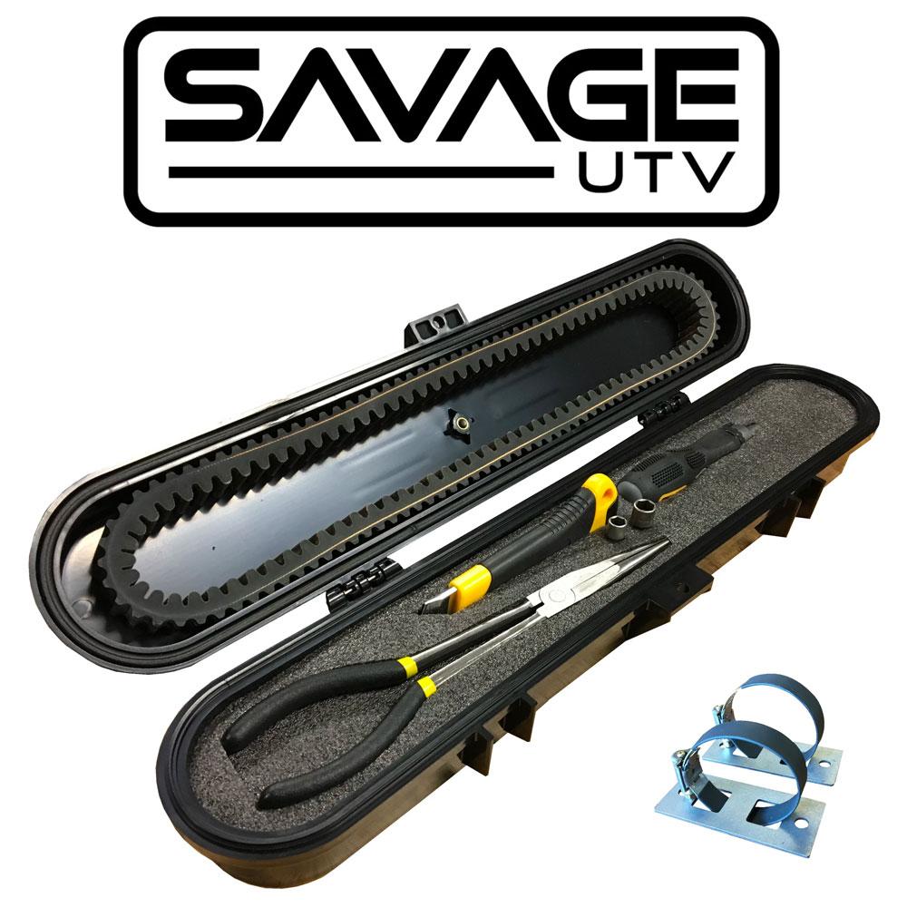 Savage UTV Belt Case with Tools