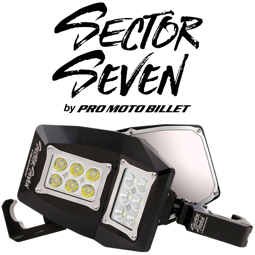 Sector Seven Spectrum Lighted Mirrors