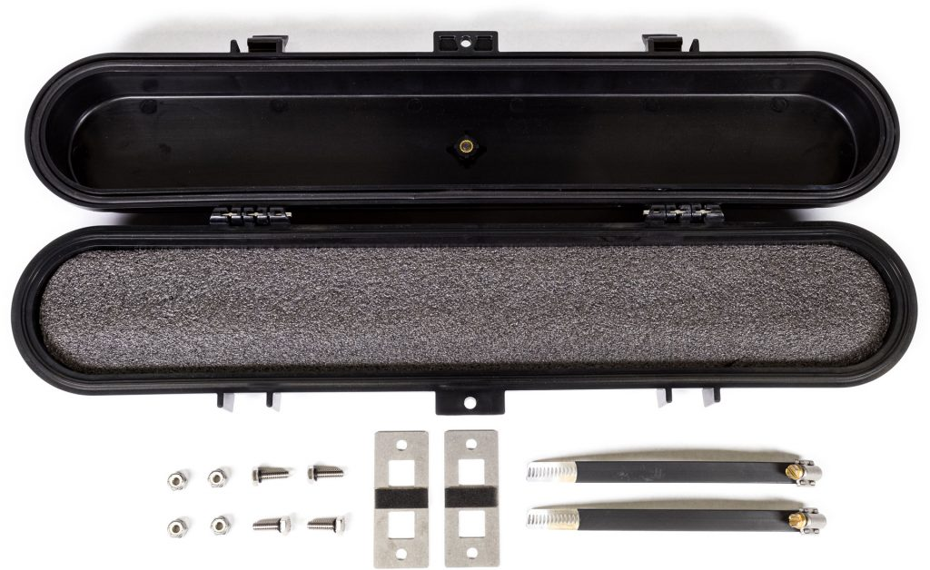 Savage UTV Belt Case components.