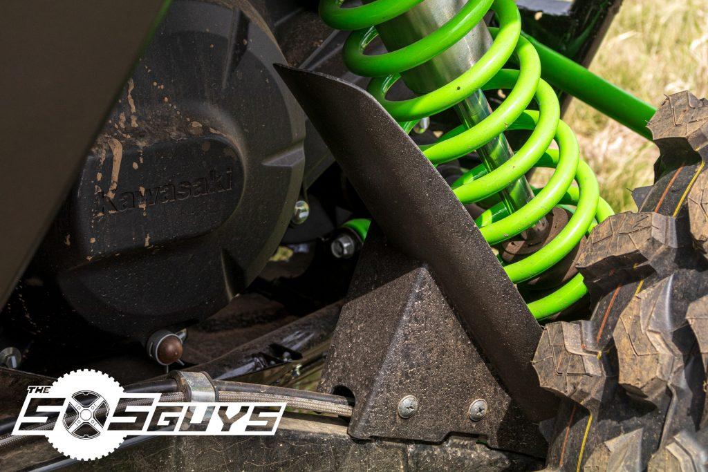 Kawasaki Teryx KRX 1000 Rear Shock Guards