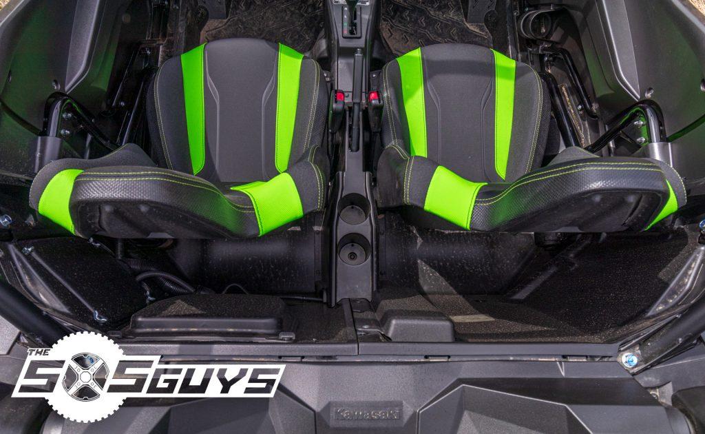 Kawasaki Teryx KRX 1000 Seats Back