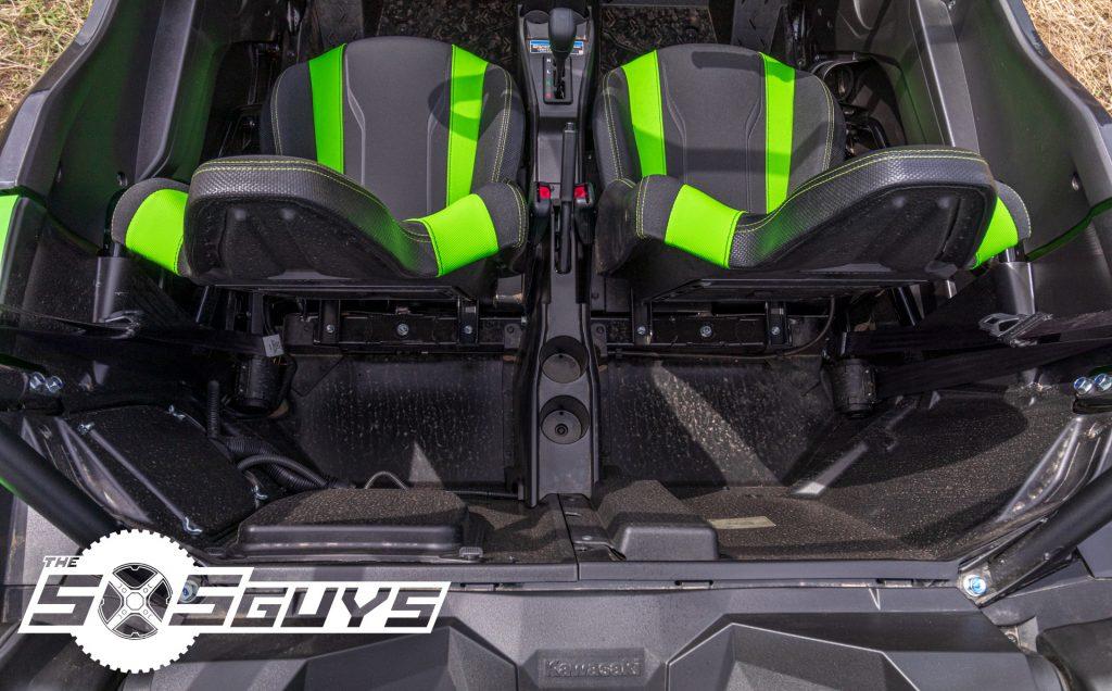 Kawasaki Teryx KRX 1000 Seats Forward