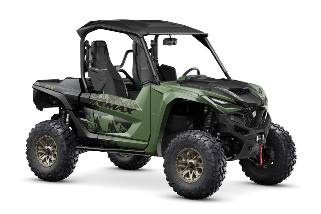 2021 Yamaha Wolverine RMAX2 1000 XT-R in Covert Green