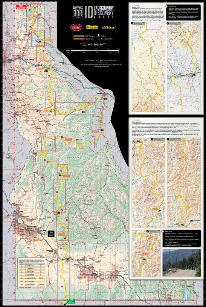 Butler Maps - Idaho BDR