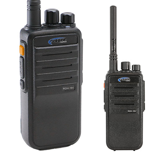 Rugged Radios RDH16-U 5-watt Handheld Digital/Analog Radio