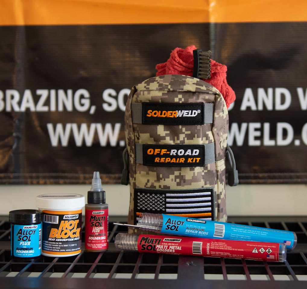 SolderWeld All-In-One Offroad Repair Kit